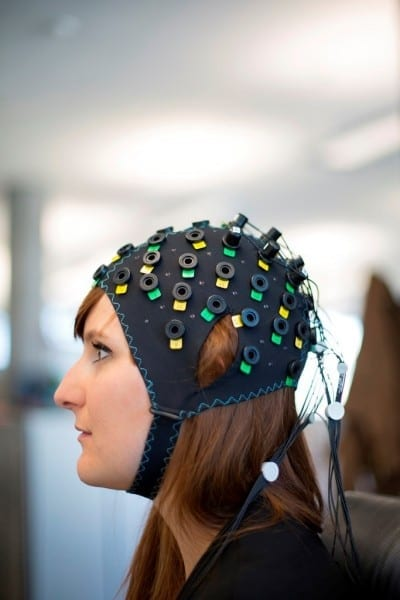 A brain computer interface that can decipher the thoughts of people who are unable to communicate
