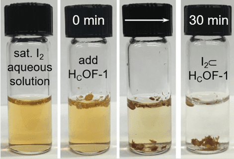 New-generation iodine-removing material could hold the key to cleaning radioactive waste