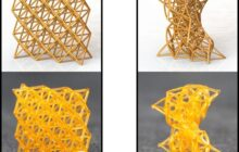 4D printed shape programming materials can be as stiff as wood or as soft as a sponge