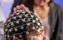 Restoring brain waves and improving depression symptoms with brain stimulation