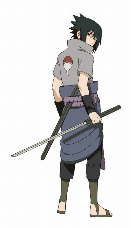 Sasuke Minecraft Naruto Vs