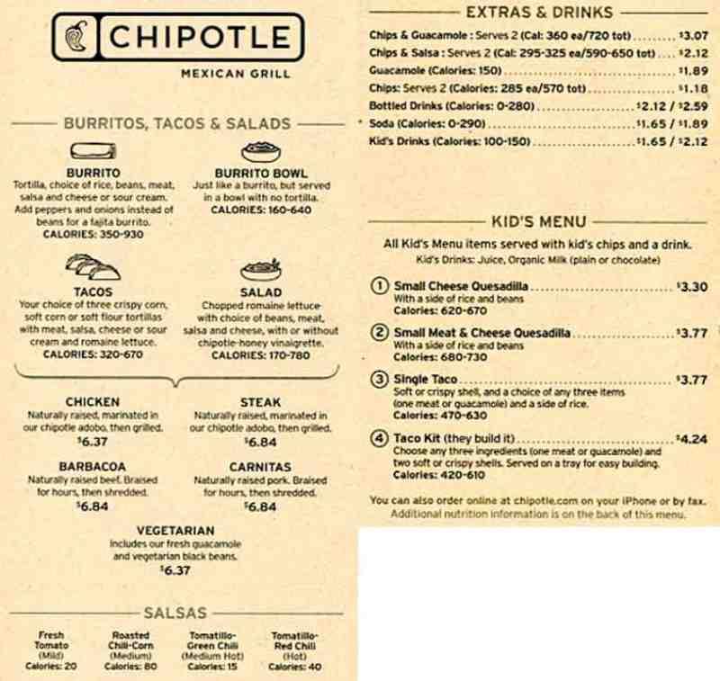 Printable Kids Menus Restaurants
