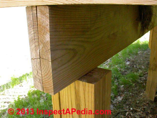 Deck Post Beam And Girder
