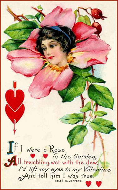 Poems Red Are Valentines Day Short Roses