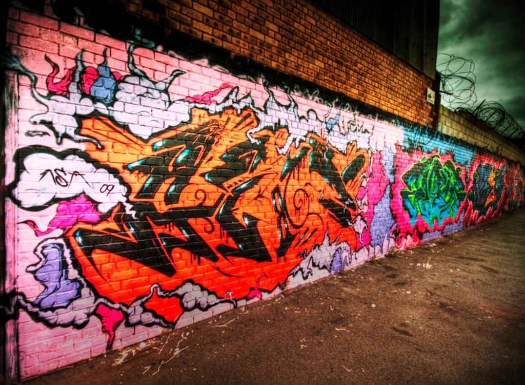 20 Street Graffiti Art Wallpaper From All Around The World