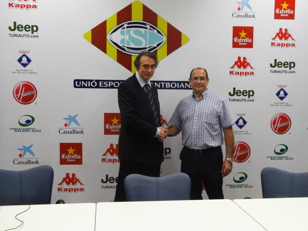 THE INSTITUT CATALÀ DEL PEU SIGNS AN AGREEMENT WITH SANTBOIANA SPORTING UNION, CURRENT CHAMPION OF THE KING'S CUP.
