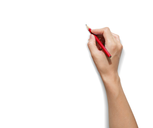 Person Holding Something Drawing