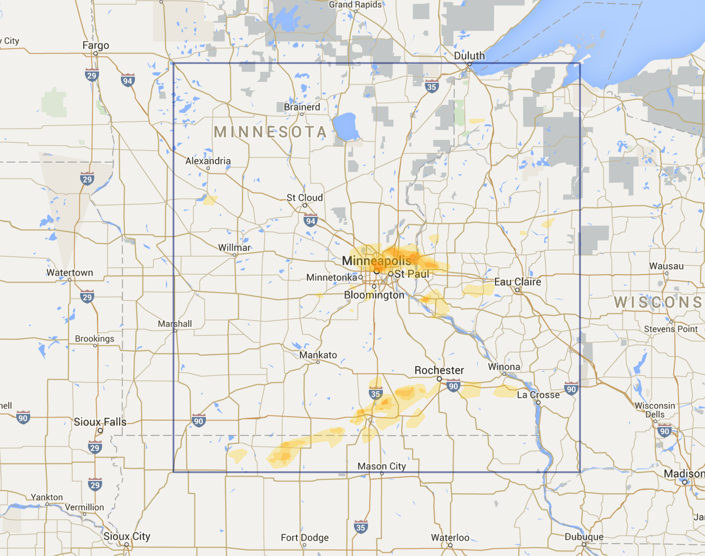 Key Map Cedar Rapids Iowa