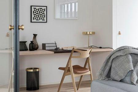modern bureau in woonkamer » Huis inrichten 2019 | Huis inrichten