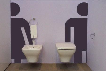 Wc inrichting. granieten fonteintje toilet. amazing moderne wc