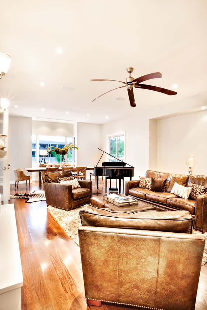 Modern Living Room Ceiling Fan Ideas Pictures