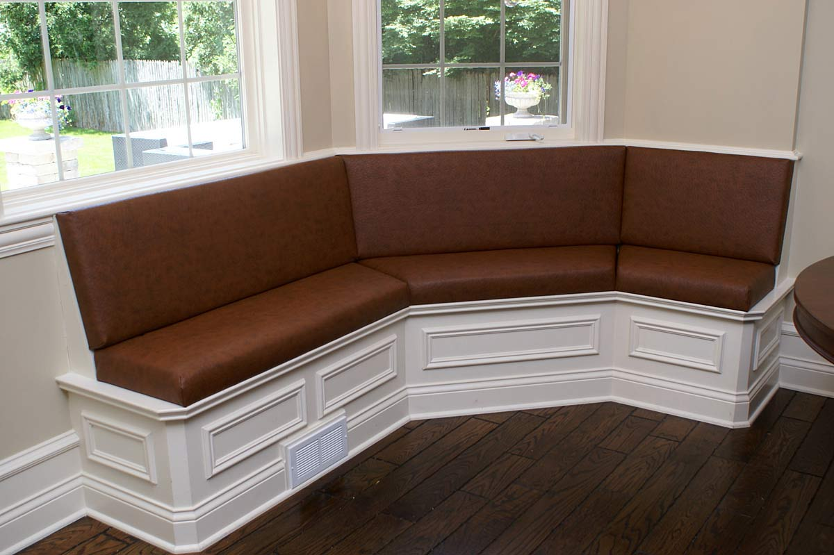 Custom Upholstery Banquettes To Comfortably Enhance Home