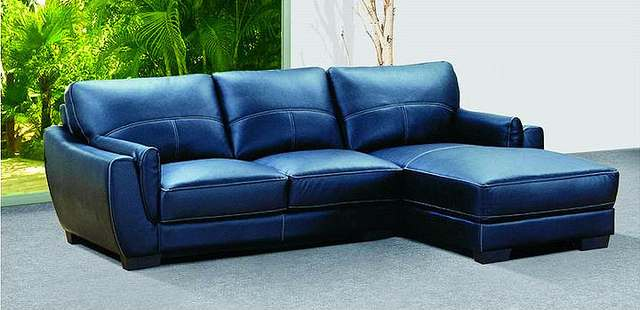 Navy Blue Sofa Set