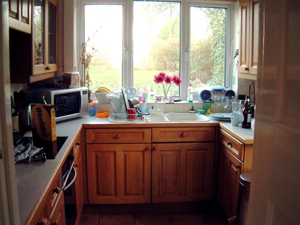 Small U Shaped Kitchen Plans