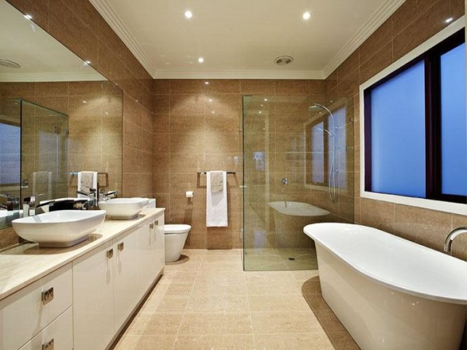 How to change the look of the bathroom      Interior Designing Ideas     of the home  Dimensions  bathrooms
