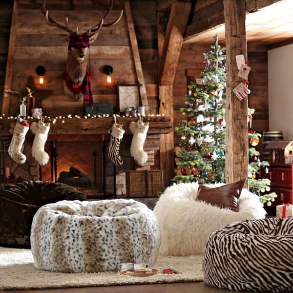How to d    cor home for New Year      Interior Designing Ideas winter home decor for the bedroom 1