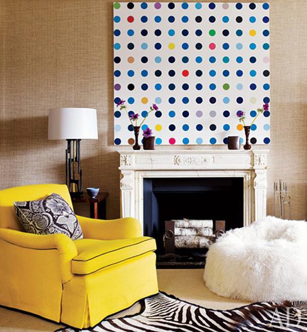 Decorating With Patterns Polka Dot Interiors