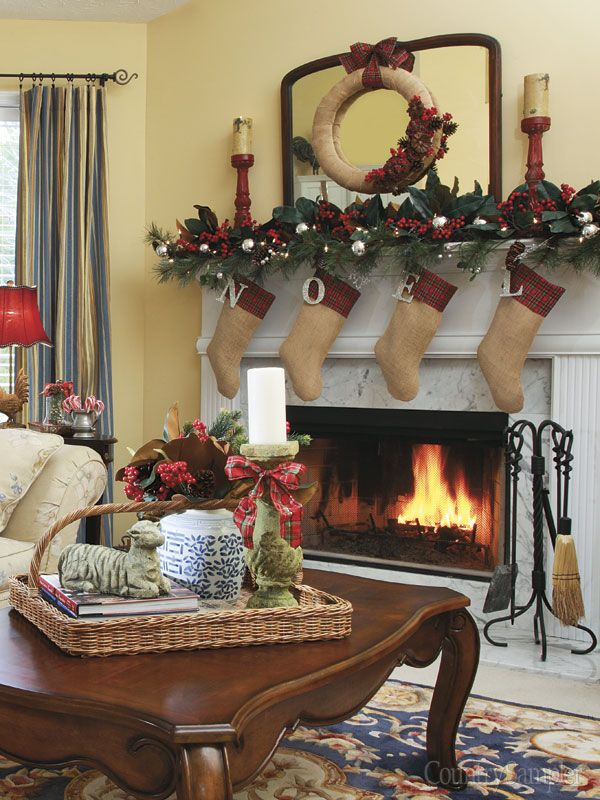 Country Sampler Magazine November 2014 Interiors By Color