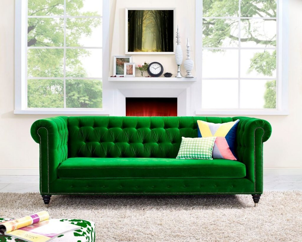 Chair Green Teal Accent