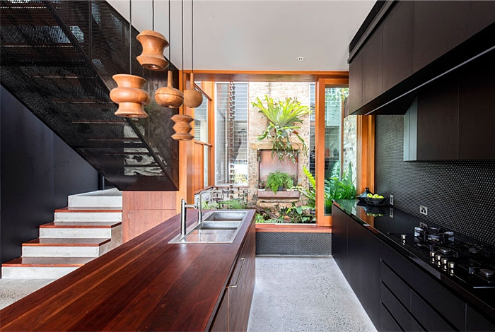 Open Concept Kitchen And Living Room – 55 Designs Ideas   Sala Design With Stairs   Front   Showcase   Basement   Siri Ghar   Room Separation