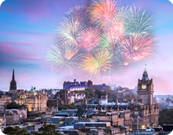 Edinburgh   Highlands Hogmanay New Year   International Friends From Saturday 30 December to Tuesday 2 January  4 days 3 nights
