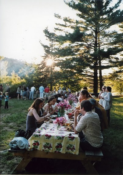 Camp Out Wedding