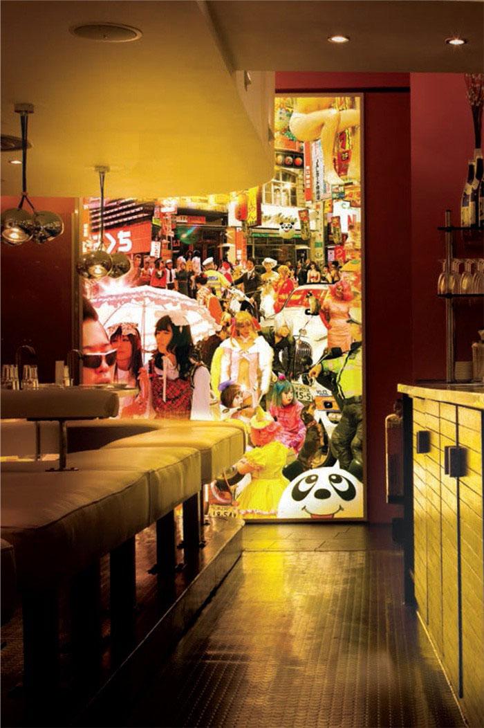 Yo Sushi Restaurants Intro Uk Design Direction