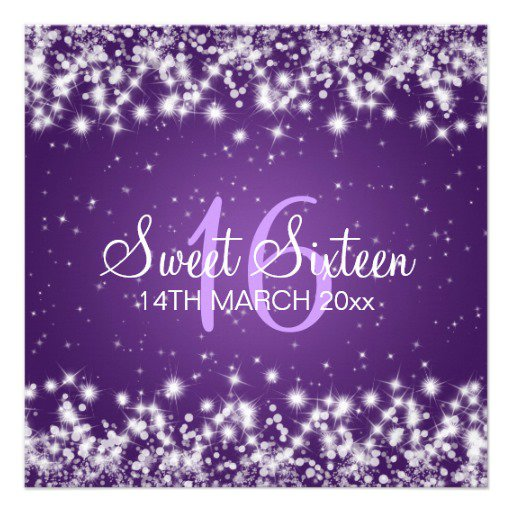 Wording 16 Sweet Invitation