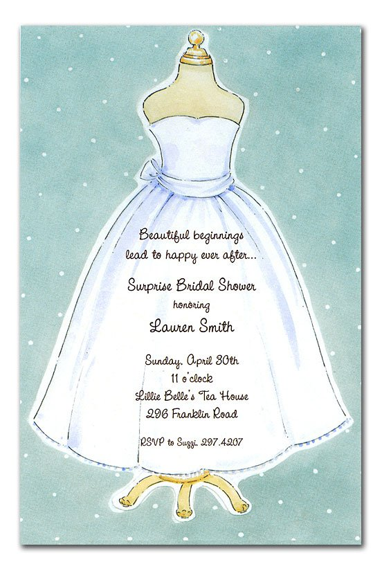 Clever Bridal Shower Invitations