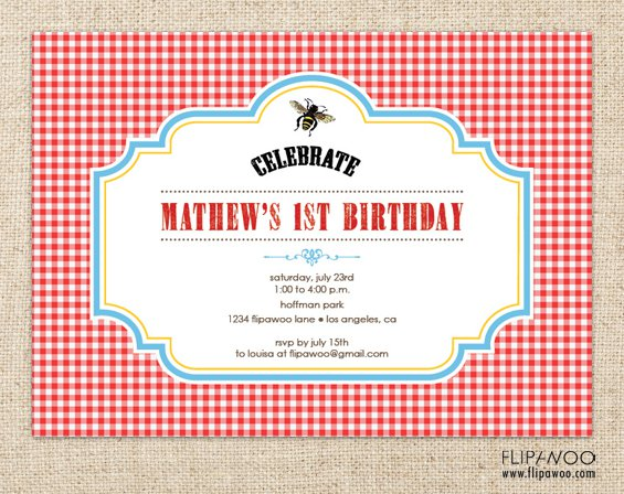 Fall Birthday Invitations Printable