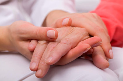 Couples Holding Hands Hospital