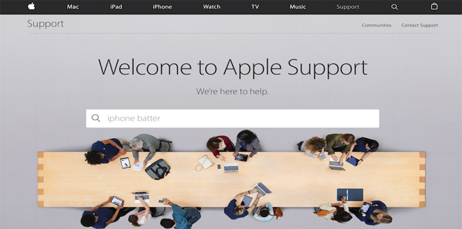 Apple s On Line Support Site Has A Brand New Look   iPhone Informer Apple support