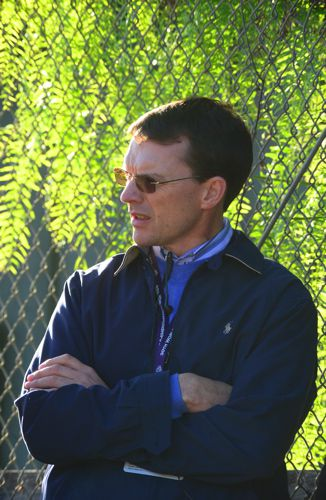 Aidan O Brien At Santa Anita