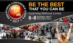 Asia Fitness Conference 2017 @ BITEC | BANGKOK | Thailand