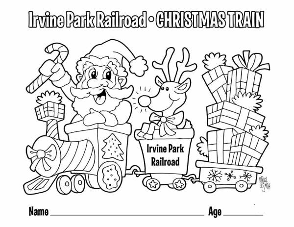 train coloring pages printable # 64