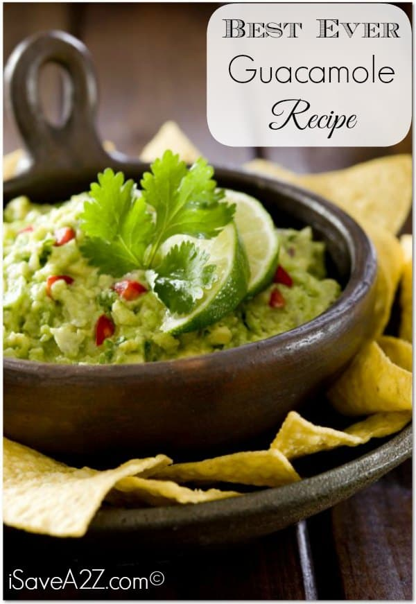 Best Ever Guacamole Recipe Easy To Put Together And