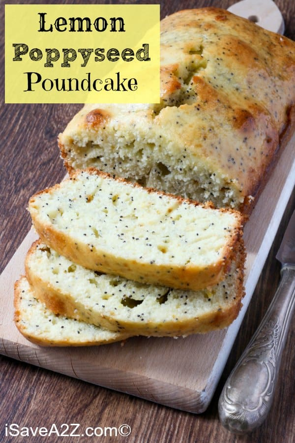 Lemon Poppy Seed Pound Cake Recipe Perfect For Spring And