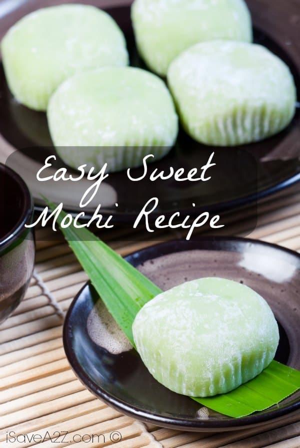 Easy Sweet Mochi Recipe Isavea2z Com