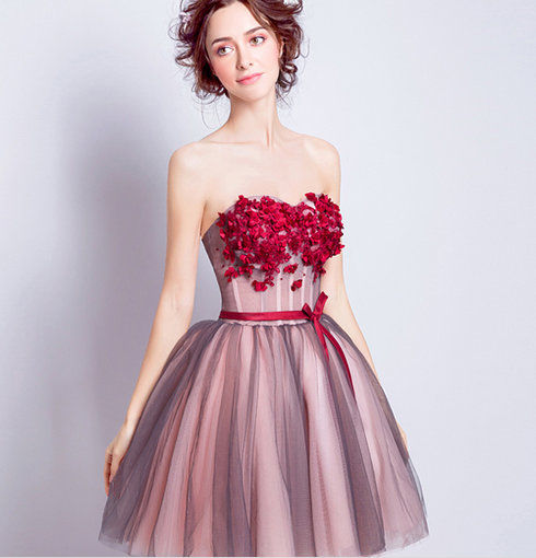 Red Cocktail Dress For Juniors Under 100 Cheap Prom Dressevening
