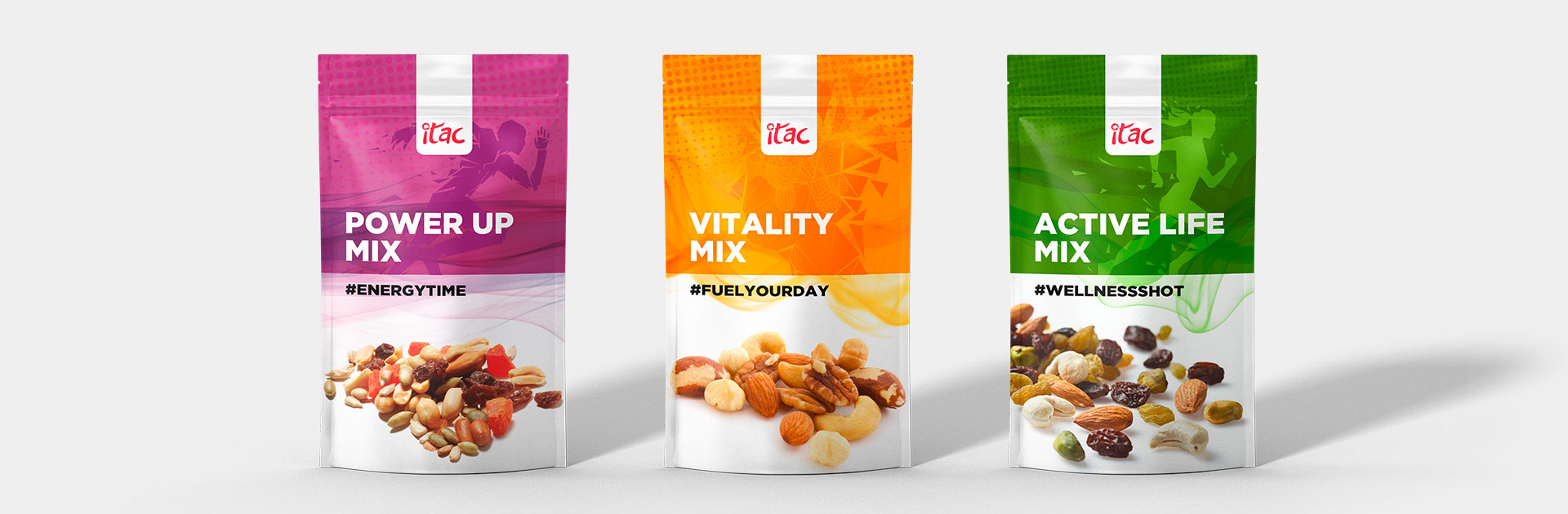 Booster Mix Nuts Perfect Snack Itac Food Fuel For Fast