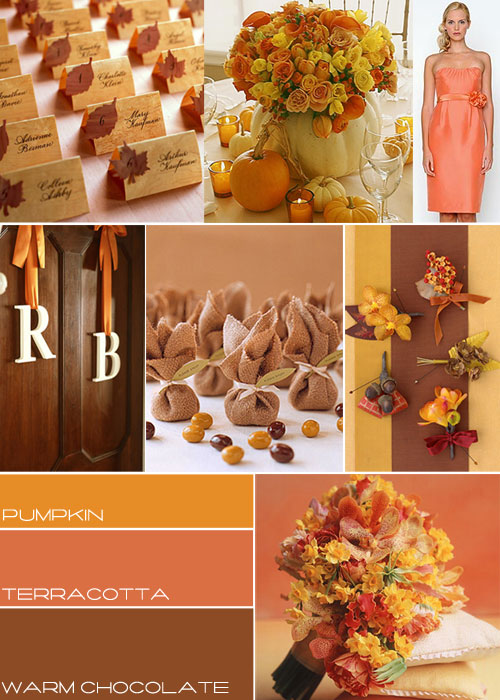 Autumn Themed Wedding