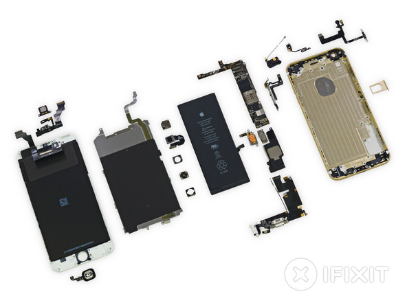 ifixit22 [immagini + Video ] iFixit: iPhone 6 Plus in tutto il suo splendore