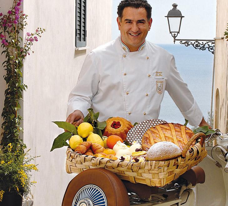 Sal De Riso S Famous Ricotta Amp Pear Cake Recipe Italy