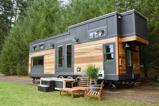 Exquisite Nature Inspired 240 Square Foot Tiny House By
