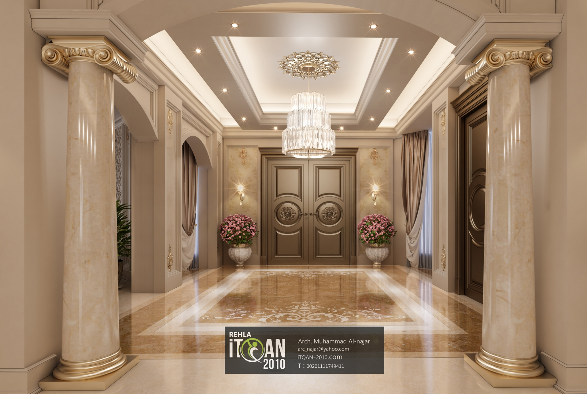 Luxuy Classic Main Hall Villa United Arab Emirates