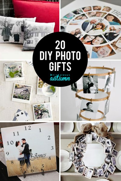 20 fantastic DIY photo gifts perfect for mother s day or grandparents 20 gorgeous DIY photo gifts  Click through for photo gift ideas for  Mother s Day
