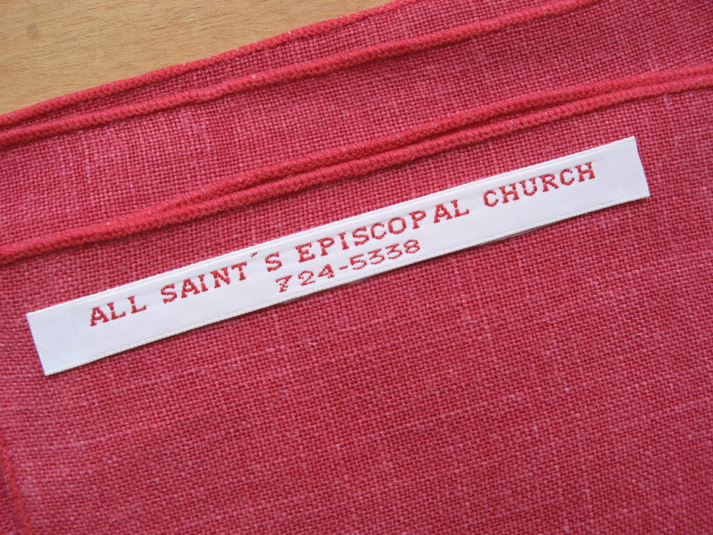 Custom Iron Clothing Tags