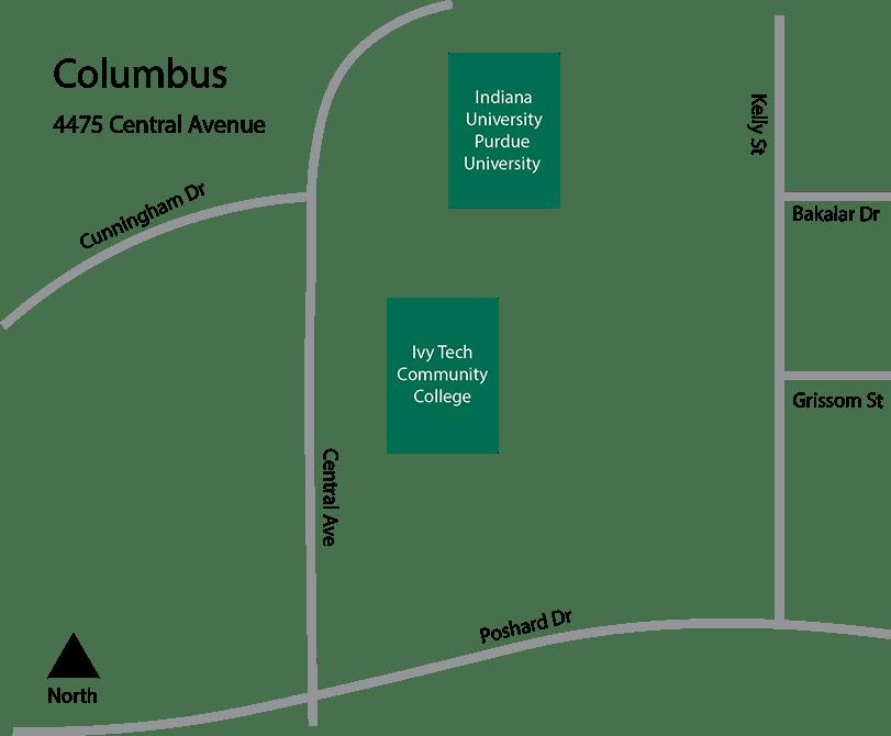 Ivy Tech Bloomington Campus Map.Ivy Tech Columbus Campus Map
