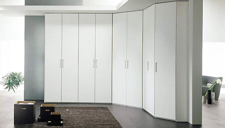 White Wardrobe And Drawers