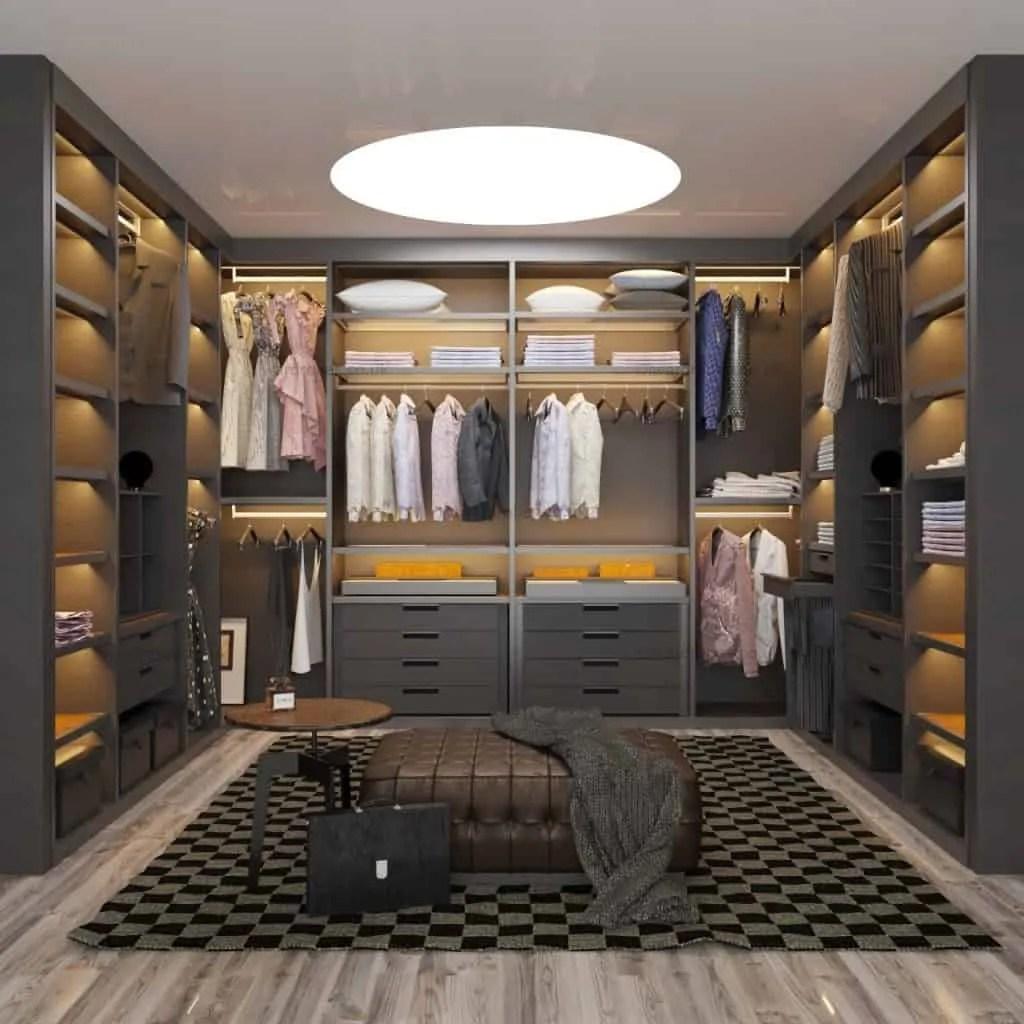Wardrobe Closet Mirror Doors